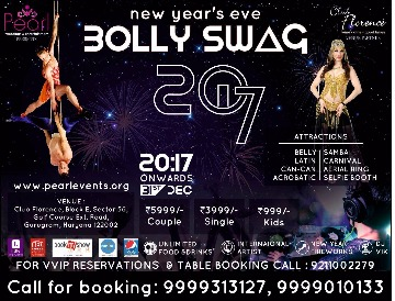 Image of New Year Party with Bolly Swag 2017 Sector 56