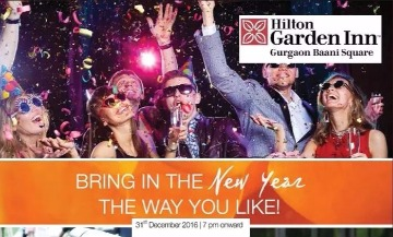 Image of New Year Party with Hilton Garden Inn  Sector 50