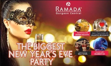 Image of New Year Party at Hotel Ramada Sector 44