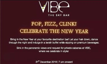 Image of New Year Party with Vibe - The Sky Bar South City 2